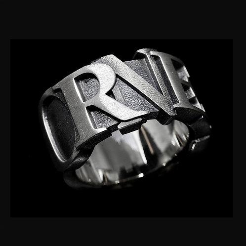 """""""Ego"""" Ring (con nome personalizzabile)"""