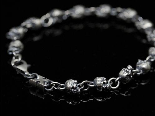 Small Skull full bracelet