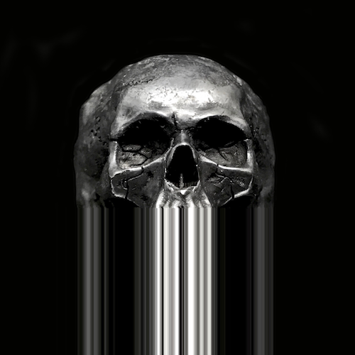 Skull ring.