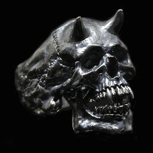 Abraxas Skull Ring