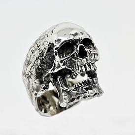 Anello teschio Skull ring glossy Decem