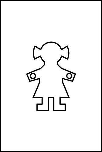 Femmina cm.2