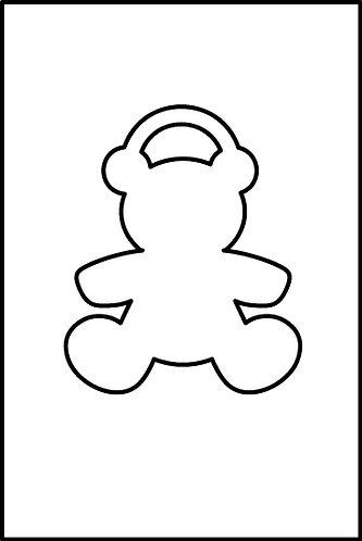 Orsetto pendente