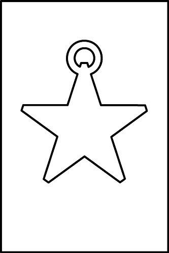 Stella pendente