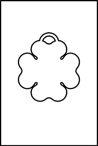 Quadrifoglio pendente
