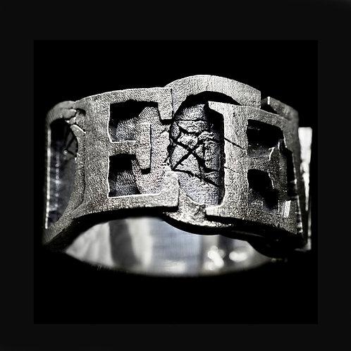 """""""Apocalypse""""  Ring (con nome personalizzabile)"""