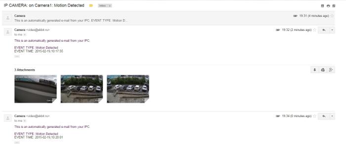 Для, отправка картинки с камеры на почту