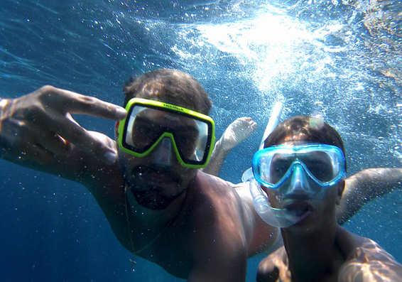 taormina boat snorkeling
