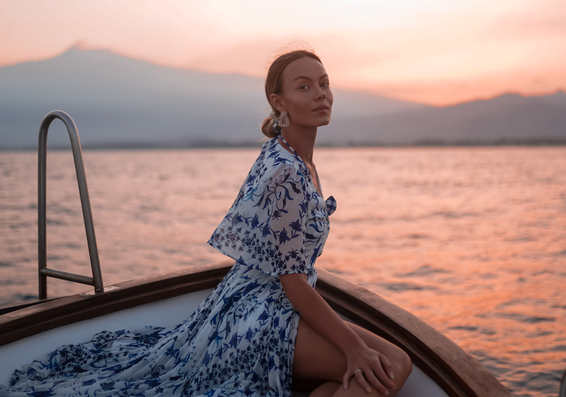 Taormina Sunset Boat model