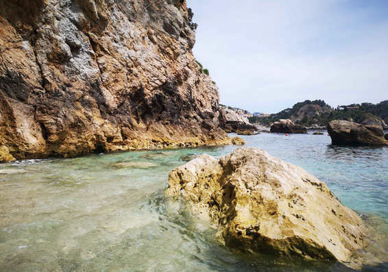 Capo Taormina beach