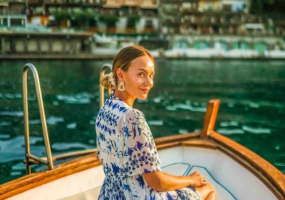 morning boat model taormina