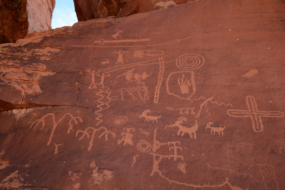 Petroglyphs at Valley of Fire State Park