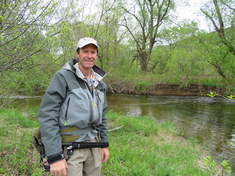 Bill McLaughlin on the upper Battenkill