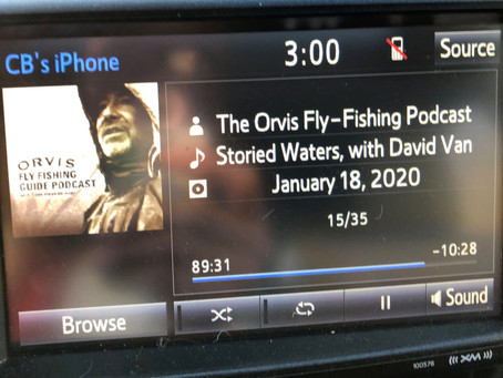 Listen for me on the Orvis Fly Fishing Podcast with Tom Rosenbauer