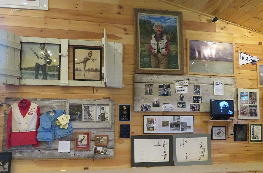 "Joan Wulff exhibit: ""the first lady of fly casting"""