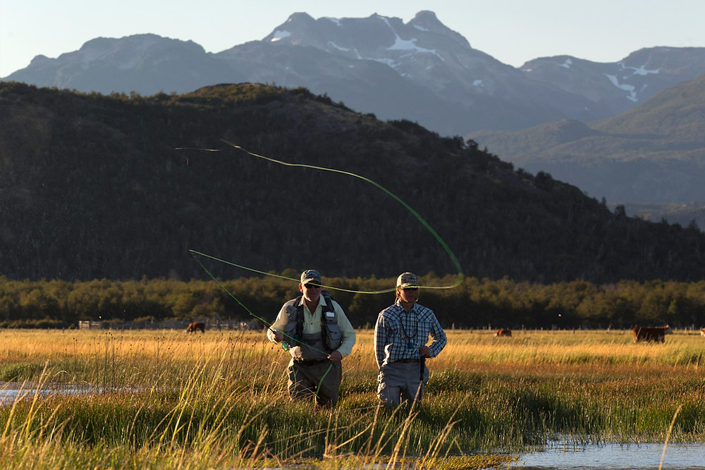 PATAGONIA: Image swiped from Las Pampas Lodge website.