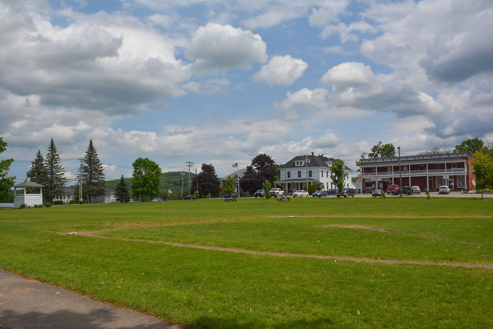 Irasburg, Vermont - Home of Howard Frank Mosher, inspiration for the small towns in Kingdom County