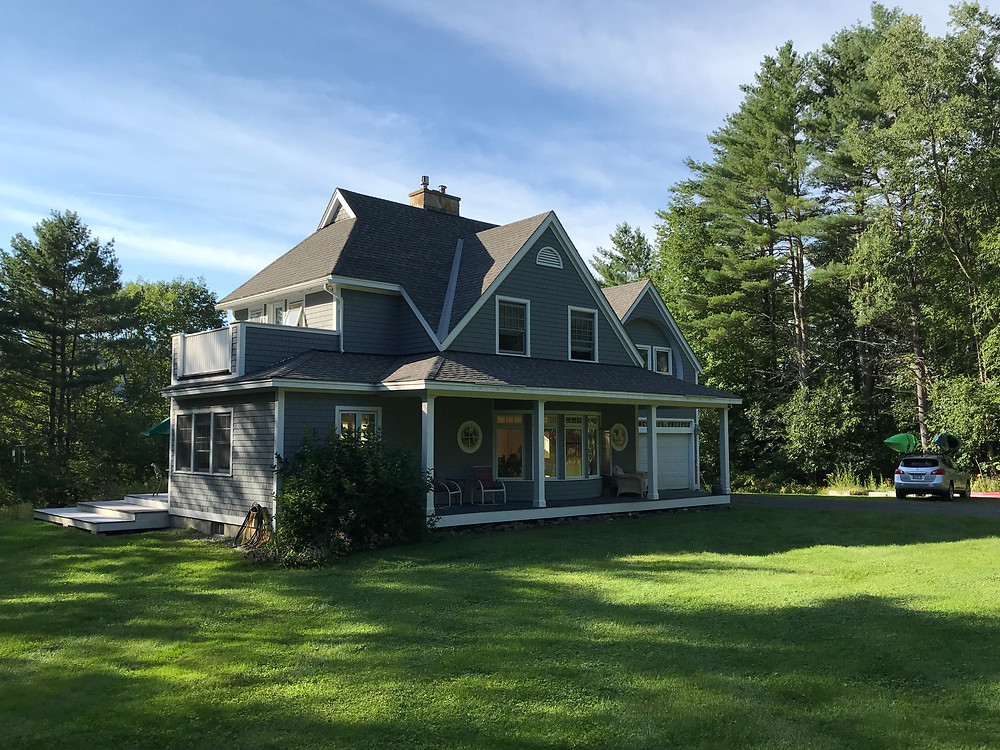 Our new house on River Road in Lyme, NH.