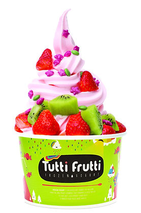 Helado de Yogurt Tutti Frutti