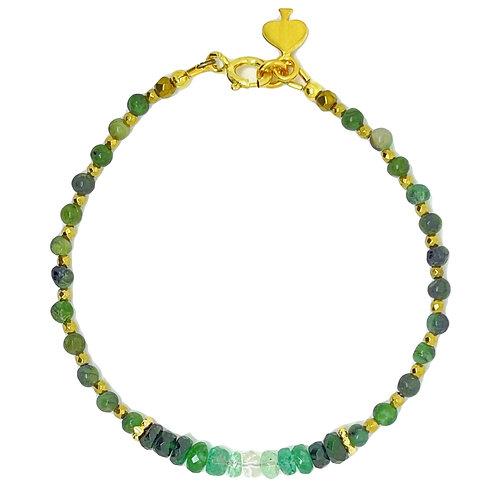 Emerald city bracelet