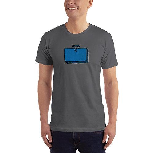 T-Shirt, Blue Bag