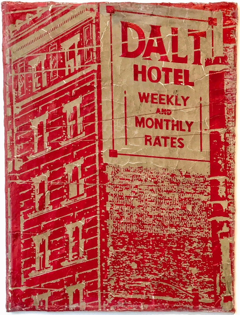 Dalt Hotel San Francisco, 2016_Clay and