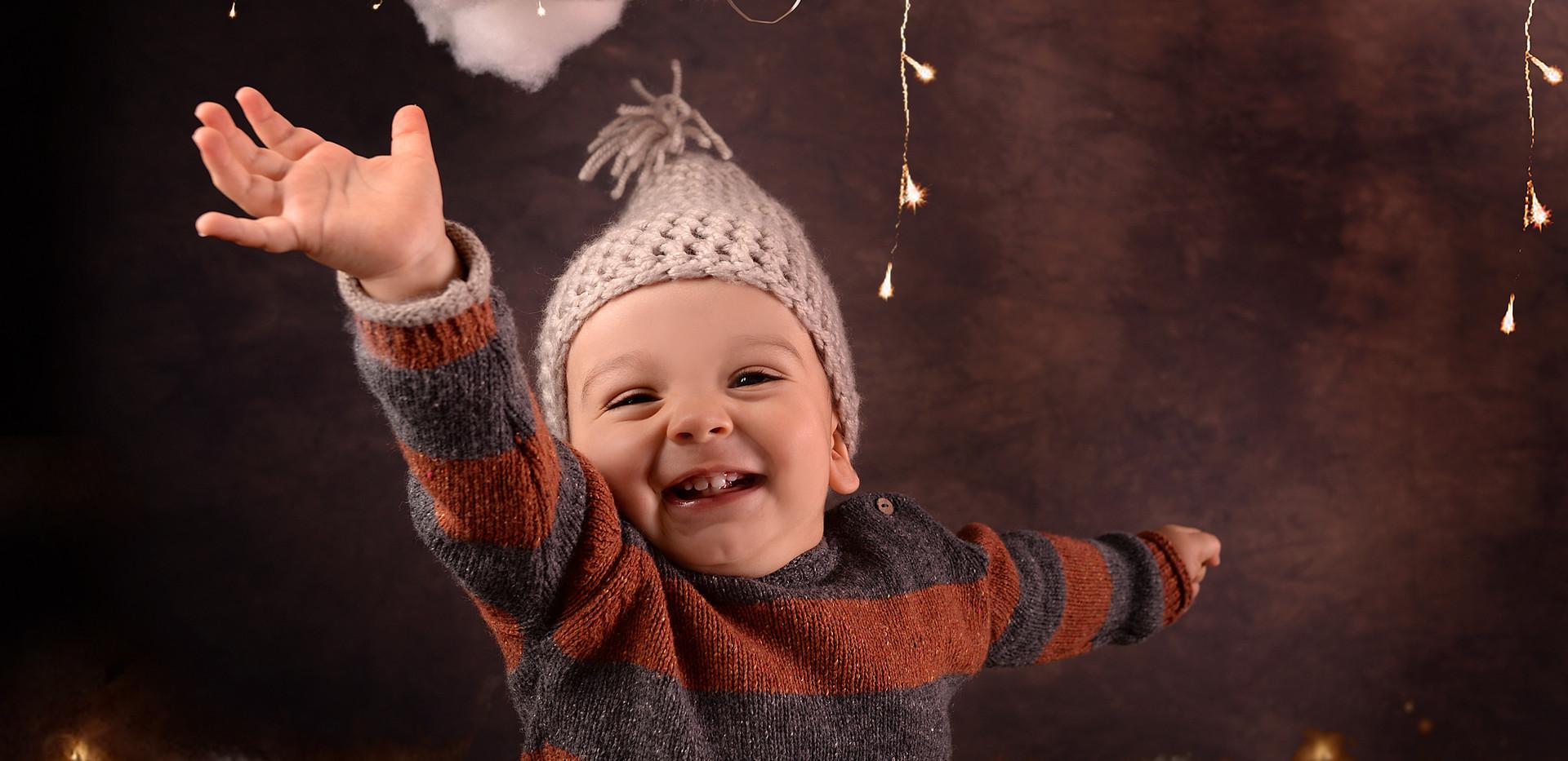 Sesiones de Navidad Bebés y Niños en Madrid (Ensanche de Vallecas)