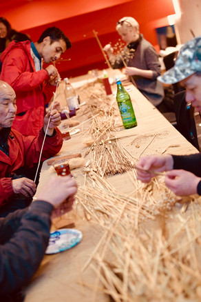 Barley Sculpture at Block Fest - Tan Sirinumas