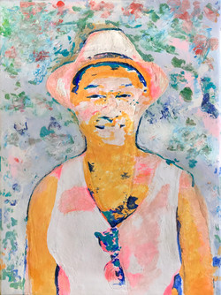 Tan Sirinumas Self Portrait, 2018 - Tan Sirinumas