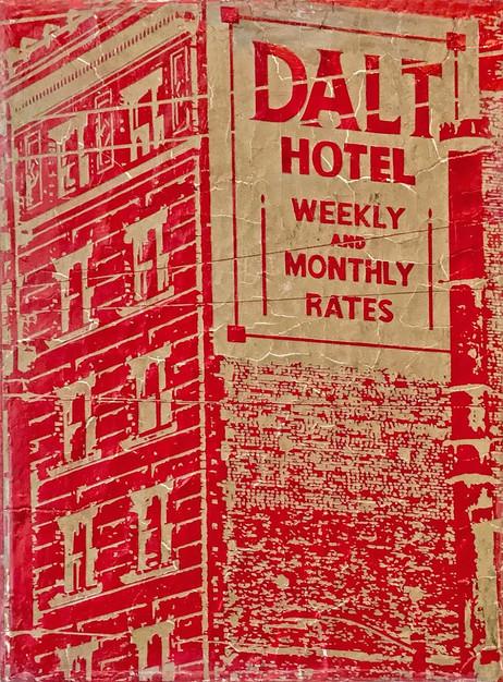 Dalt Hotel-2016-clay-acrylic-12x16-inche