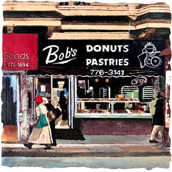 Bob's Donuts Pastries, 2021 - Tan Sirinu