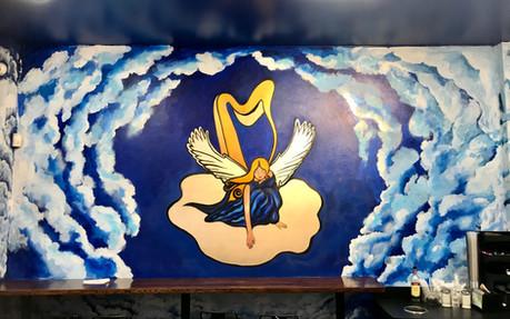 Angel Cafe Mural, 2019