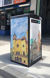 Big Belly Smart Trash Bin Design