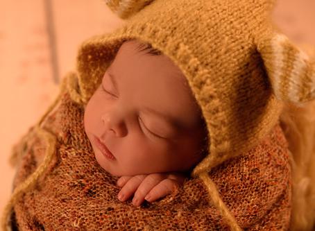 Sesiones a bebés recién nacidos en Madrid