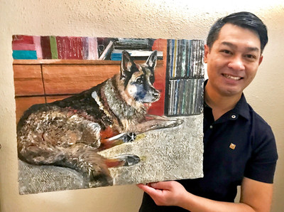 Khun Yak (Dog's name means Giant in Thai), 2018