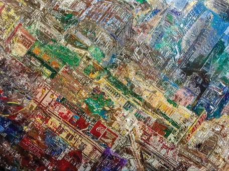 Metropolis, 2019 - Clay and acrylic, 18_