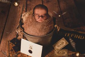 ESTUDIO FOTOGRAFIA BEBES Harry Potter