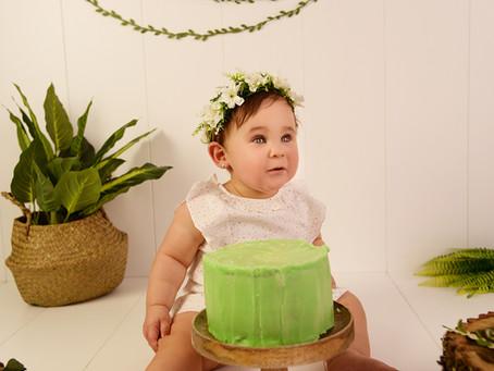 Fotógrafos Smash Cake (Madrid) Bebés.