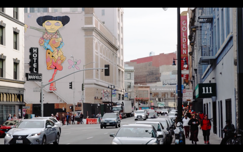 Tan Paints the Tenderloin - SF Short Fil