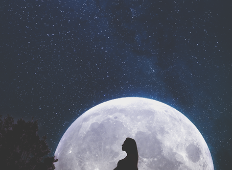 It's a full moon tonight with a lunar eclipse! Get ready to have your baby?