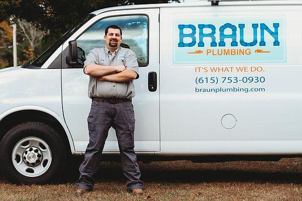 John Braun of Braun Plumbing