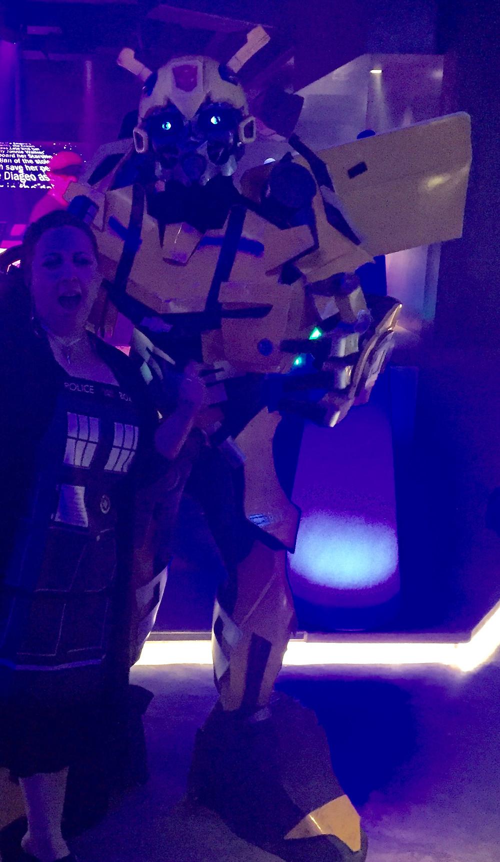 Amazing sci-fi costume