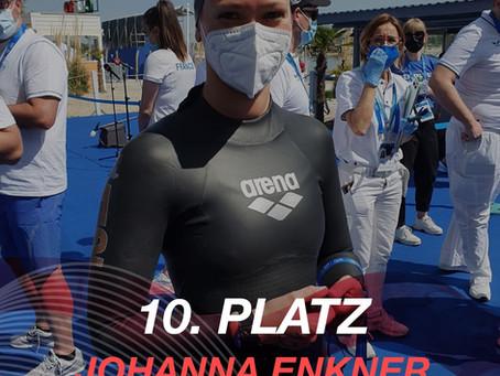 EM: TOP 10 Ergebnis für Johanna Enkner bei der EM in Budapest