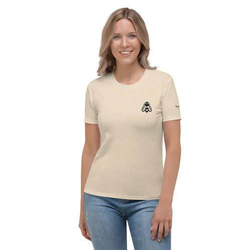 Sugar Bee Dice All-Over Womens Logo T-Shirt