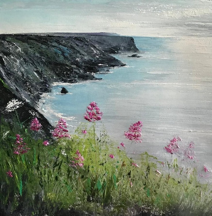 Cliff path at Hells Mouth, Godrevy