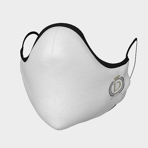 Dornhoefer Logo Face Covering in White