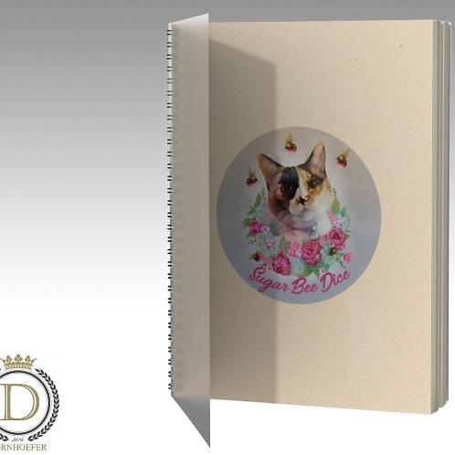 Sugar Bee Dice Spiral Notebook
