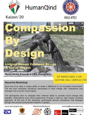 Human Centered Design Workshop : Compassion by Design