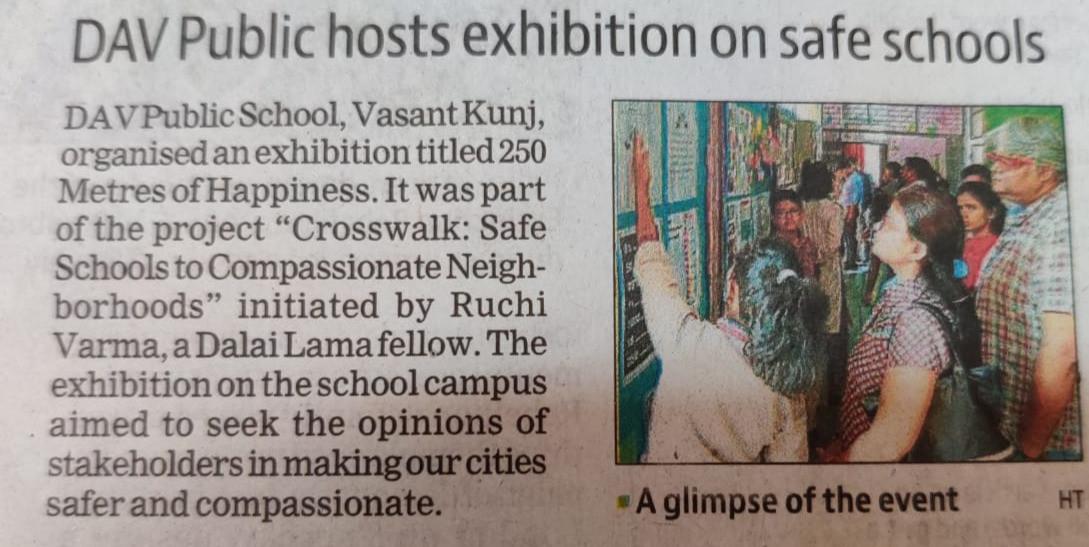DAV Public hosts exhibition on safe school