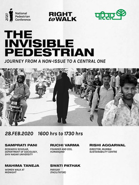 Speaker : The Invisible Pedestrian